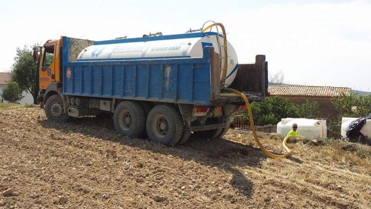Transporte de agua para consumo humano