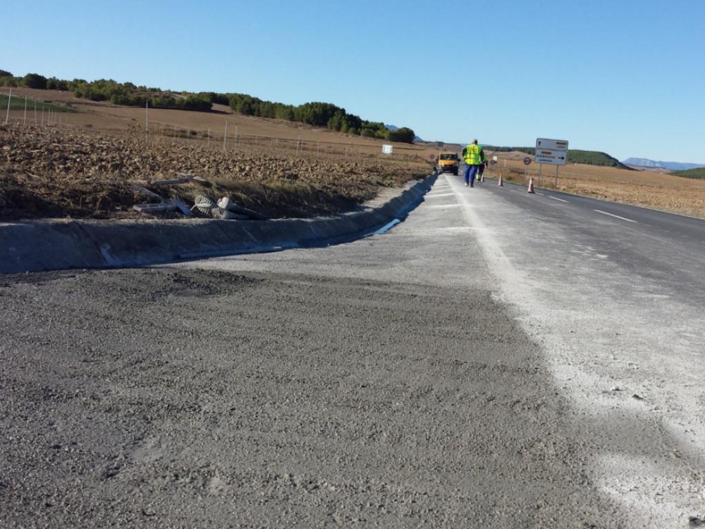 Cunetas para Conservación de Carreteras UTE TAFALLA