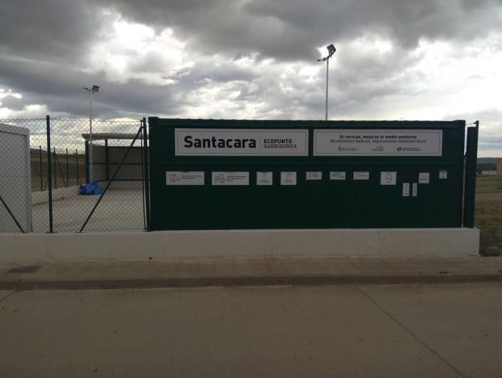 CONSTRUCCIÓN DE UN NUEVO ECOPUNTO EN SANTACARA